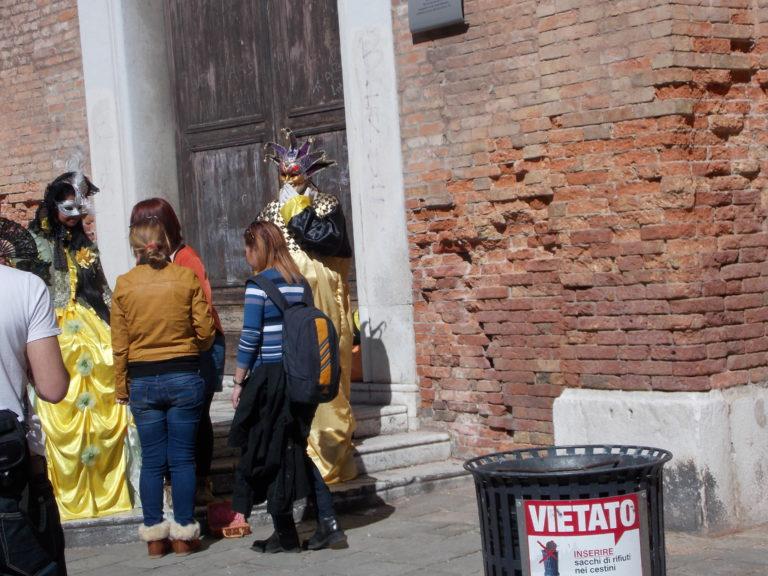 Carnaval em Veneza na Itália