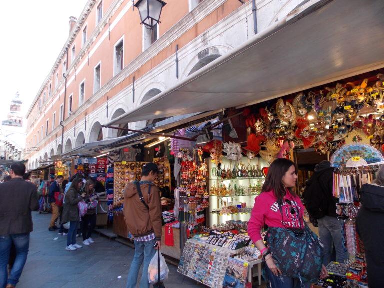 Souvenir em Veneza na Itália