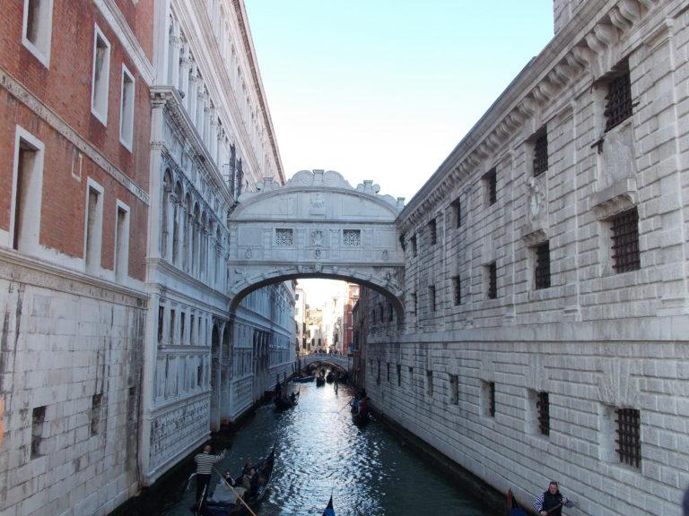 O que fazer em Veneza Ponte dos suspiros