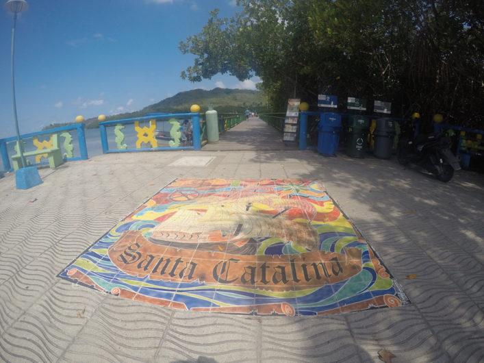 Ilha Santa Catalina na Colômbia