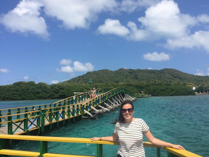 Ponte dos Namorados Ilha Santa Catalina na Colômbia