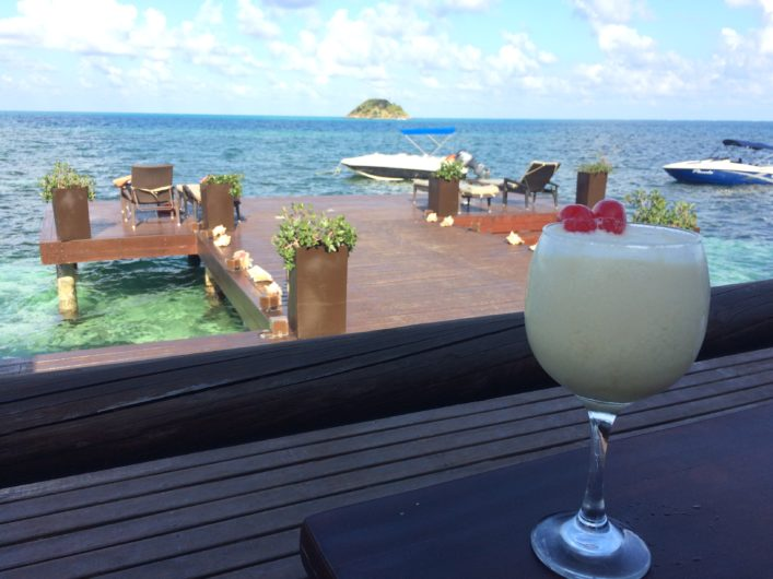 Onde comer em Providência na Colômbia Hotel Deep Blue