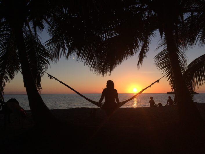 Pôr do Sol em Southwest Bay em Providência, Colômbia