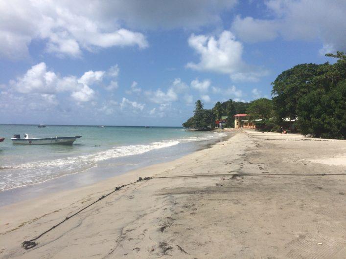 Freshwater Bay em Providência, Colômbia