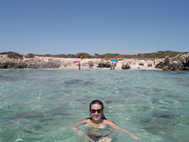Melhores praias de Ibiza Las Salinas (Ses Salines)