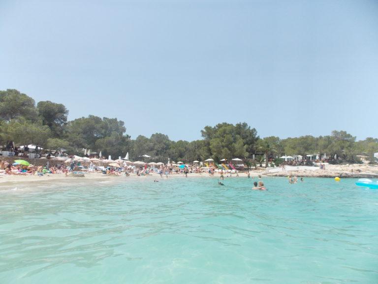 Melhores praias de Ibiza Cala Bassa