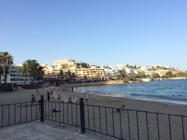 Melhores praias de Ibiza Ses Figueretes