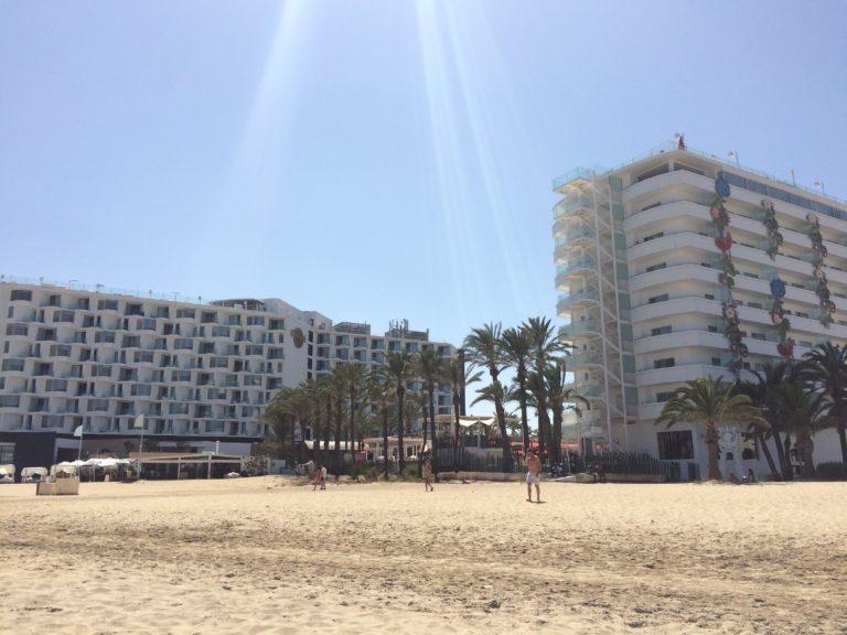Melhores praias de Ibiza Playa d'en Bossa
