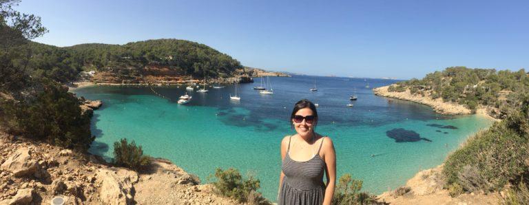 Melhores praias de Ibiza Cala Salada and Saladeta