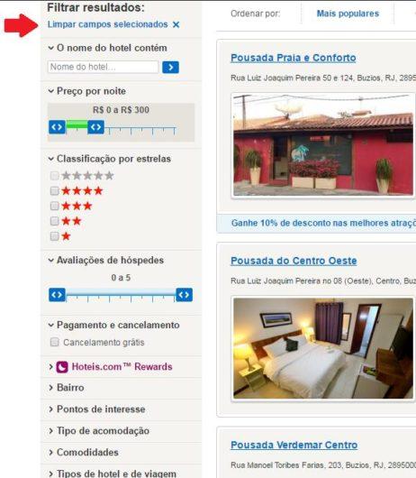 Como fazer reservas no hoteis.com 3