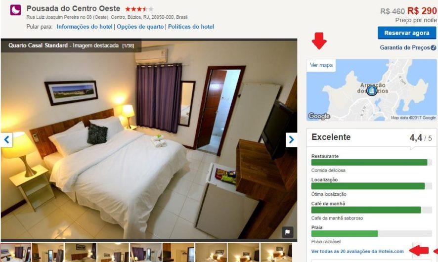 Como fazer reservas no hoteis.com 4