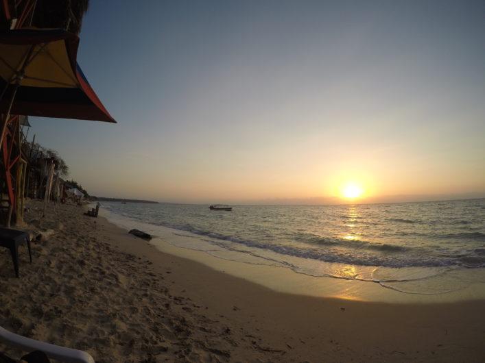 Pôr do Sol Playa Blanca