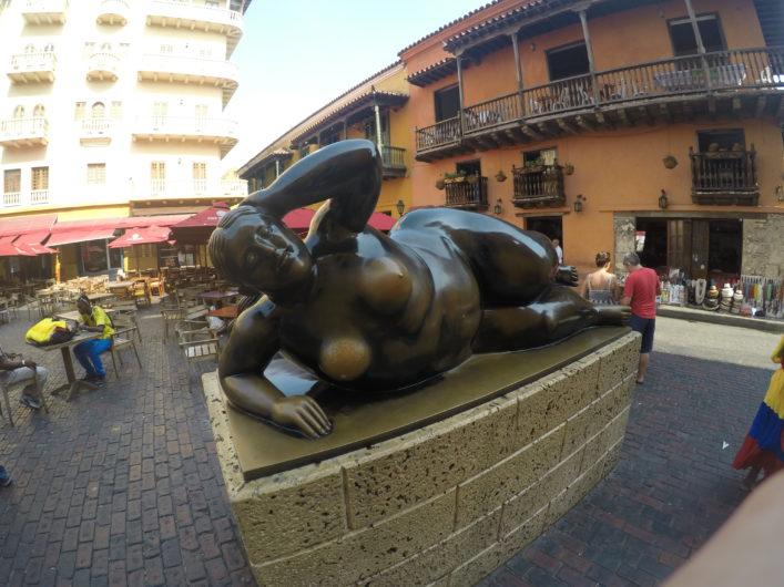 La Gorda Gertrudis Cartagena