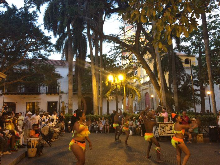 Plaza de Bolivar Cartagena