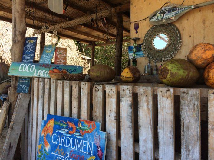 Onde comer na Playa Blanca Cartagena