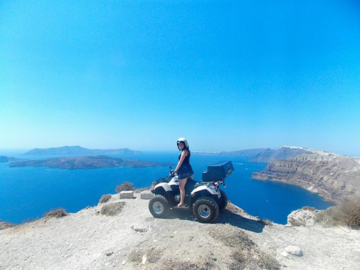 ATV Santorini Grécia
