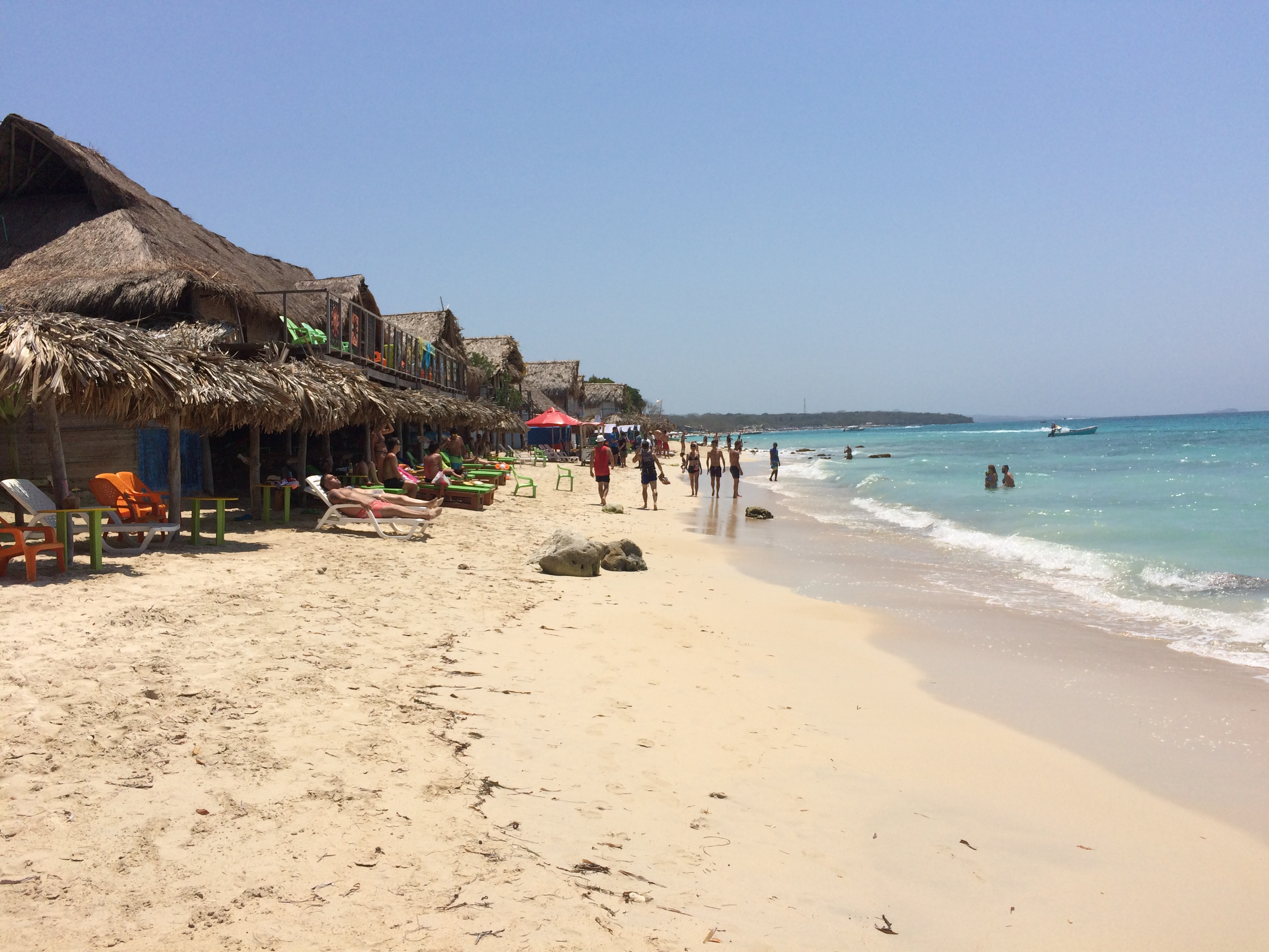 Hospedagem Playa Blanca Cartagena