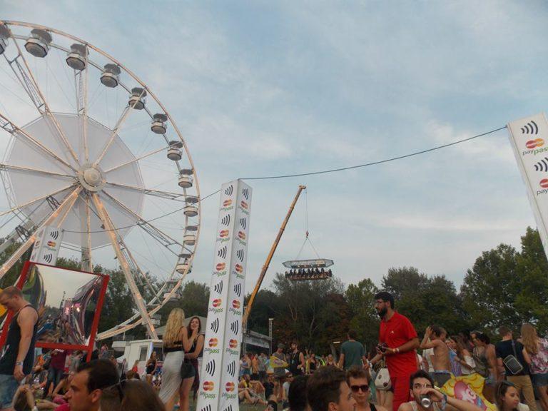 Festas no verão europeu Sziget Festival Budapeste