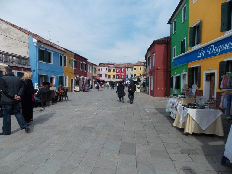 Passeio em Veneza Burano Itália