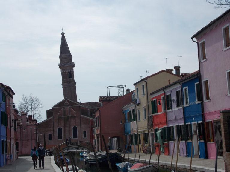 Igreja de San Martino Burano Itália
