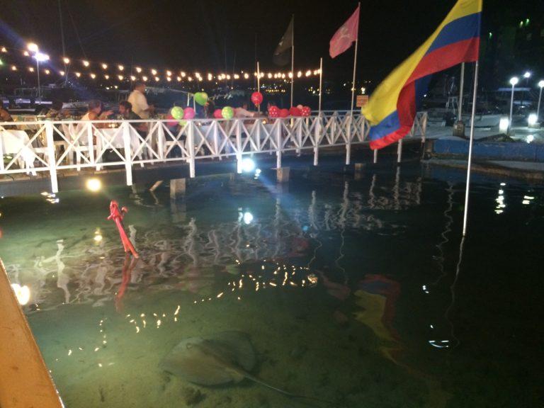 Arraia no La Regatta em San Andrés