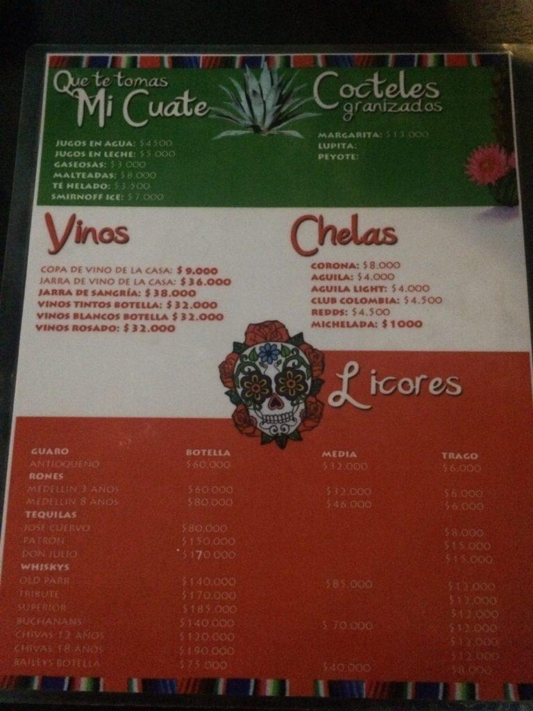 Onde comer em San Andrés 80's