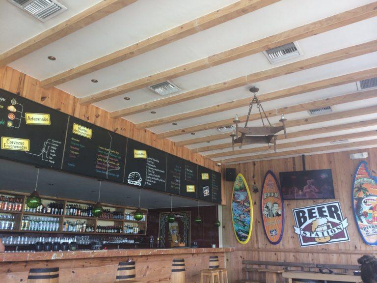 Onde comer em San Andrés Beer Sation