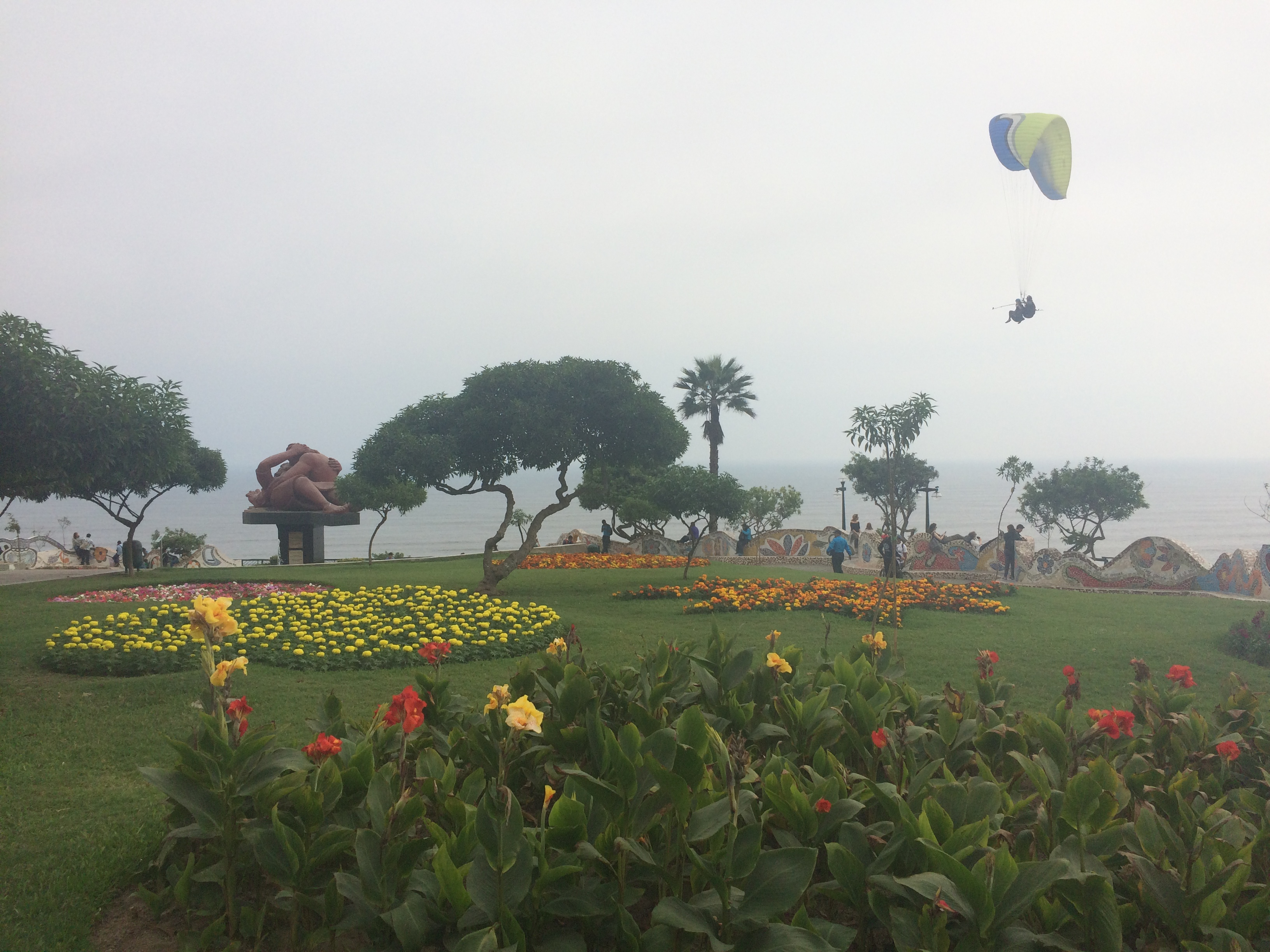 Parque do Amor em Miraflores Lima