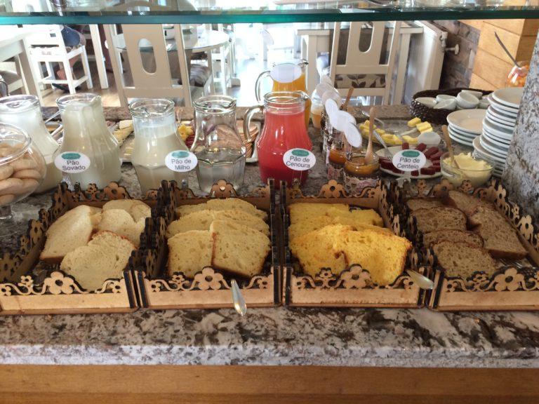 Café da manhã Hotel Cabanas Tio Müller